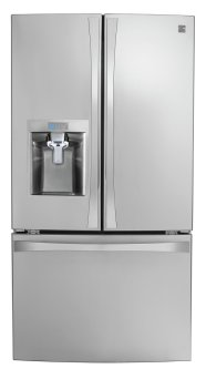 Kenmore Smart 24 cu. ft. French Door Bottom-Mount Refrigerator with Amazon Alexa
