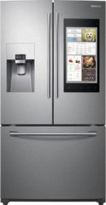 Samsung - Family Hub 2.0 24.2 Cu. Ft. French Door Refrigerator