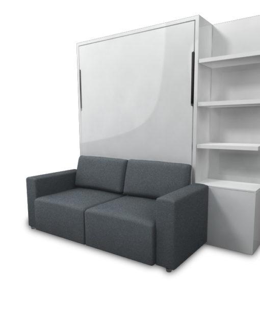 murphysofa clean wall bed Fabric5WhiteUp Expand Furniture
