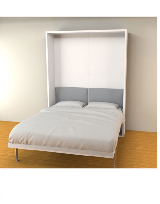 Hover Double Modern Wall Bed Open