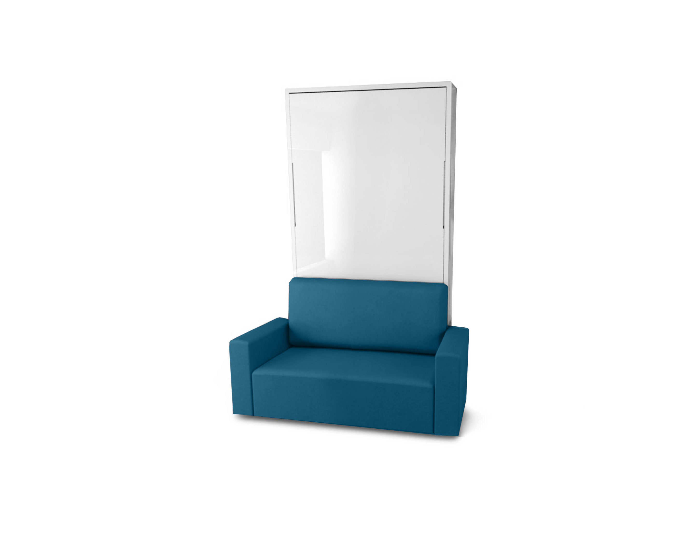 murphysofa twin vertical wall bed sofa