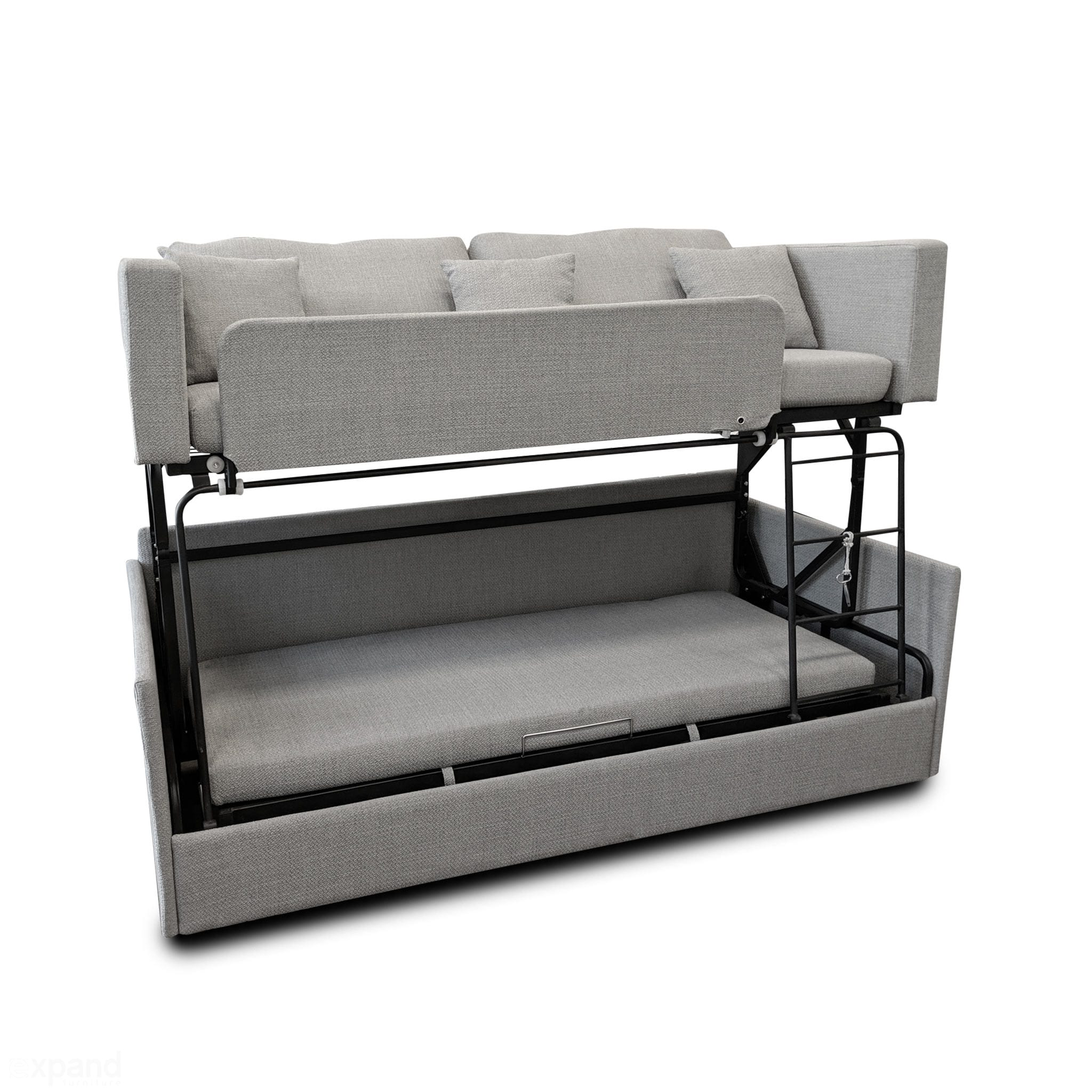 The Dormire Bunk Bed Couch Transformer Expand Furniture Folding Tables Smarter Wall Beds Space Savers