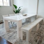 Ultimate Space Saving Dining Table Set Expand Furniture Folding Tables Smarter Wall Beds Space Savers