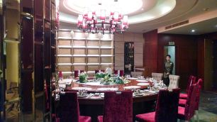 Beautiful dinner with the generous people of Changchun University. Photo by Leisa DeCarlo.