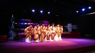 Bell performance in Wuhan. Photo by Leisa DeCarlo.