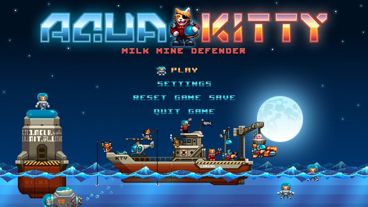 Aqua Kitty: Milk Mine Defender - As We Play