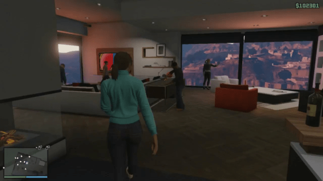GTA Online, now with double the swanky apartment action, if you can afford it