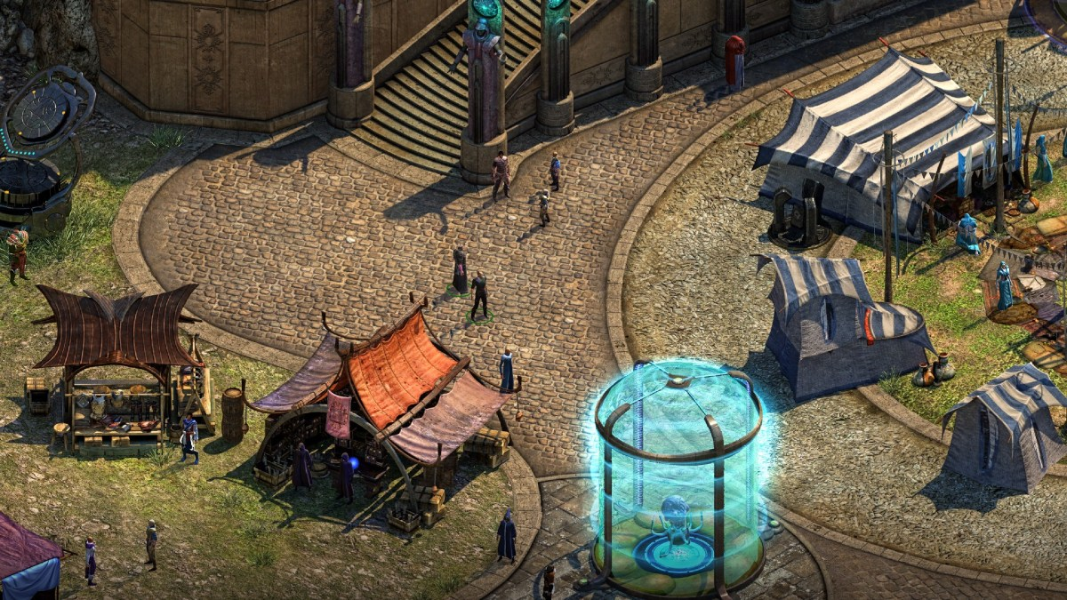 Torment Tides of Numenera shows off combat in new trailer