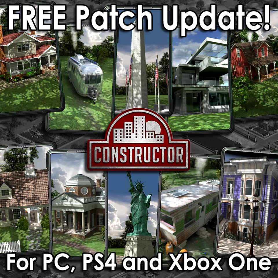 Constructor HD Patch goes live January 29 with free DLC