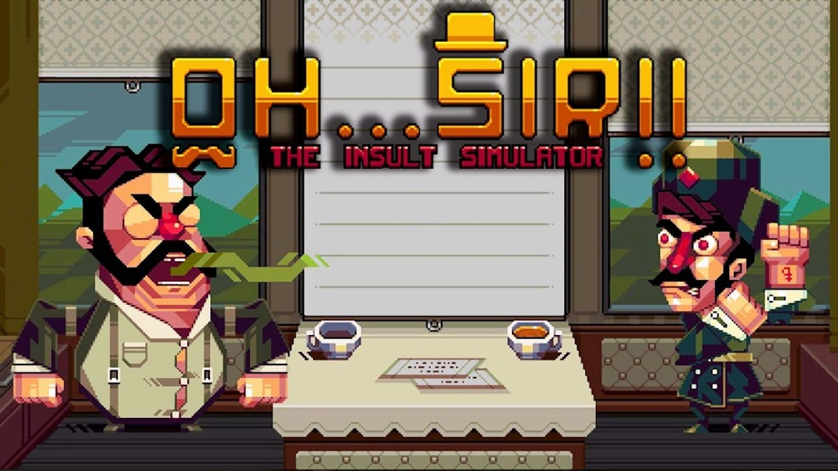Oh...Sir! The Insult Simulator will receive exclusive extra character on Switch