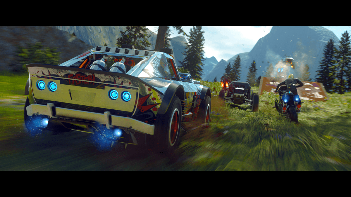 ONRUSH Deluxe Edition includes eight additional vehicle designs