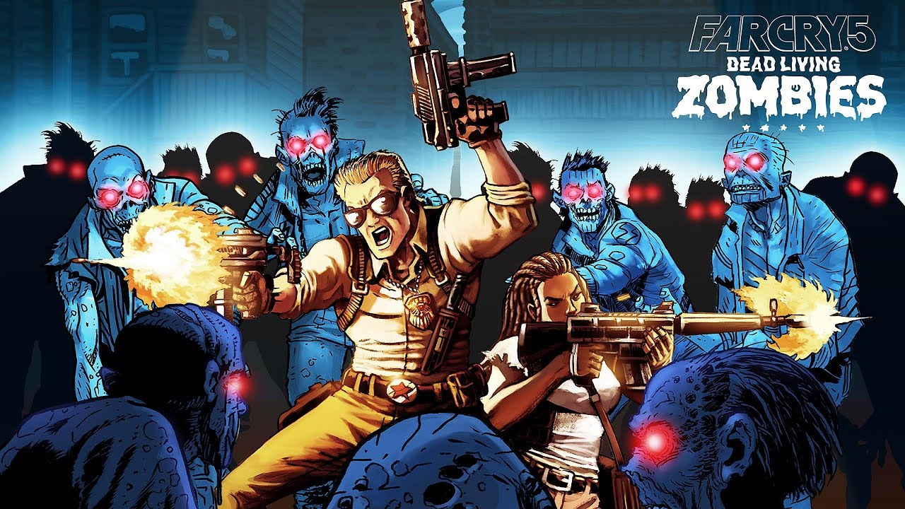 Far Cry 5 Dead Living Zombies Dlc Trophies Leaked Expansive