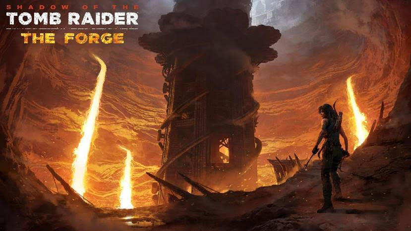 Shadow of the Tomb Raider - The Forge DLC releases tomorrow
