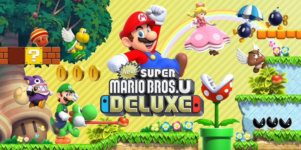 We can finally play New Super Mario Bros U the way it was truly intended