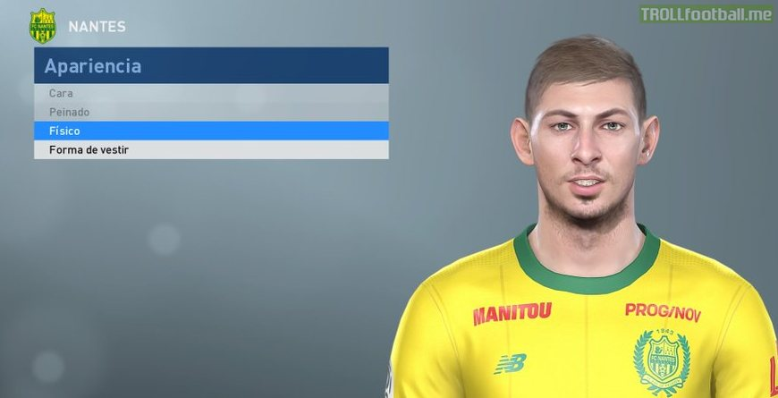 Emiliano Sala and more added to Pro Evolution Soccer 2019