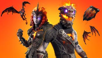fortnite lava legends brings fiery dlc cosmetics to battle royale and creative modes - fortnite laguna pack
