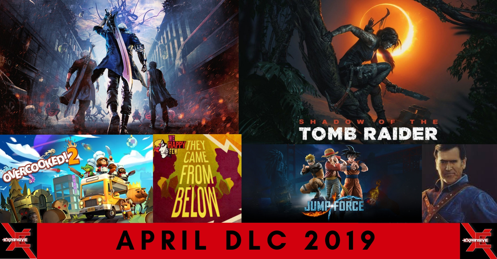 April 2019 DLC Release Schedule - Devil May Cry, Hearthstone, Smash
