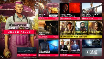 Hitman 1 7 0 adds Offline Profiles and Enemy Pull - Expansive