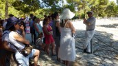 Miltos, our Knossos guide.