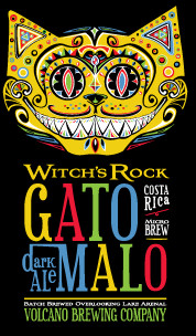 """Two beers (only) are offered: Gato Malo (""""Mad Cat"""") and Witch's Rock. Witch's Rock is a perfect hot-day session beer."""