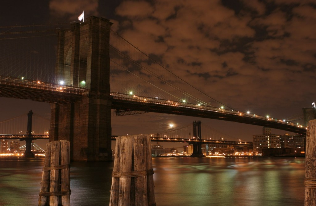Brooklyn Bridge at Night - Retirement Plan