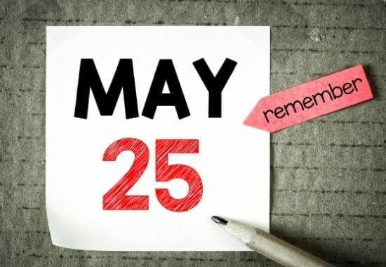 deadline for the annual tax return