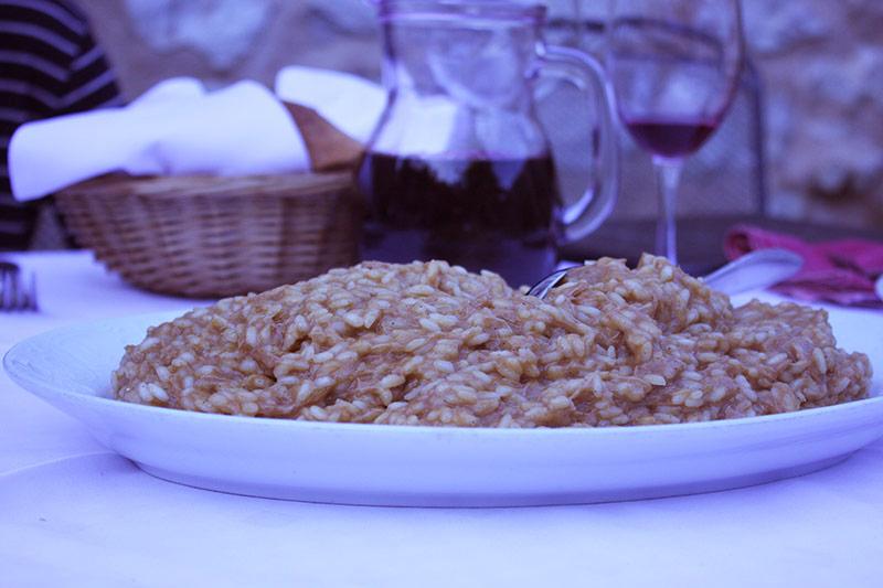 12 hour risotto of Skradin, Croatia