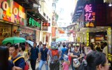 Tourist crowds in old Macau _ expatlingo.com
