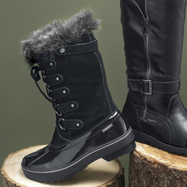 Winter boots, Canada style
