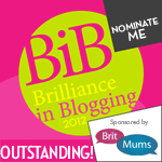 Britmums Brilliance in Blogging
