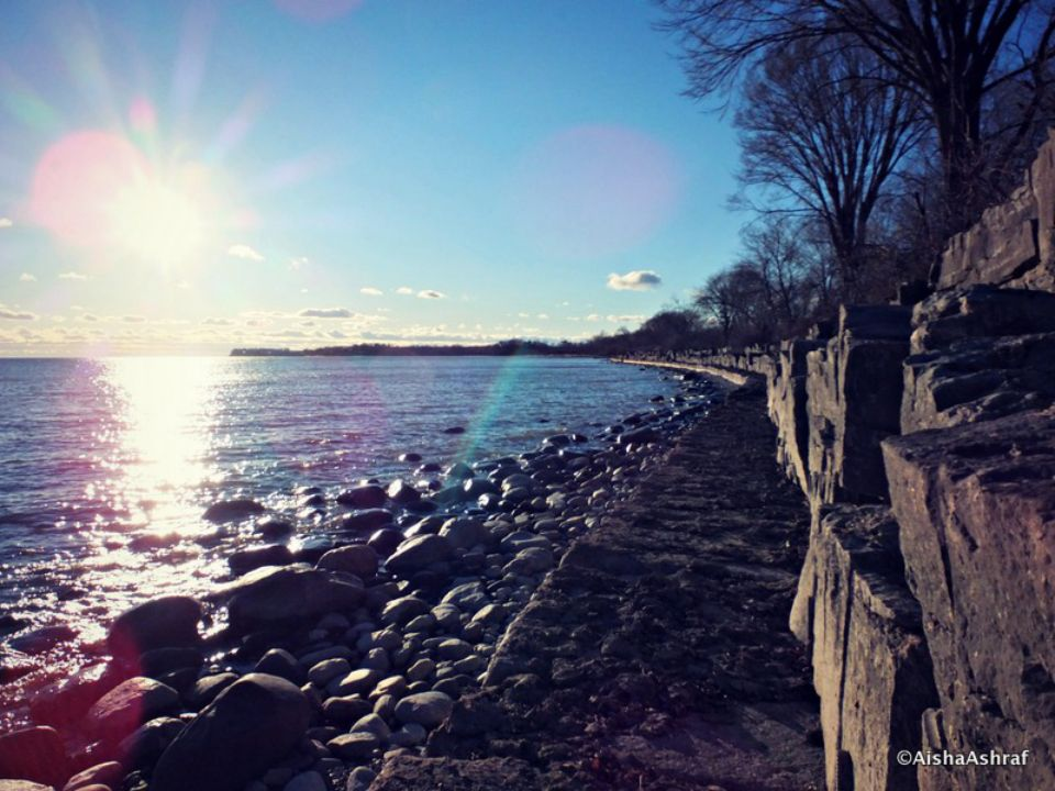 Lake Ontario shoreline