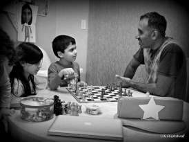 Beaten by a 3-yr-old?