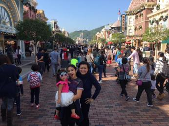 Hongkong Disneyland, December 2015.