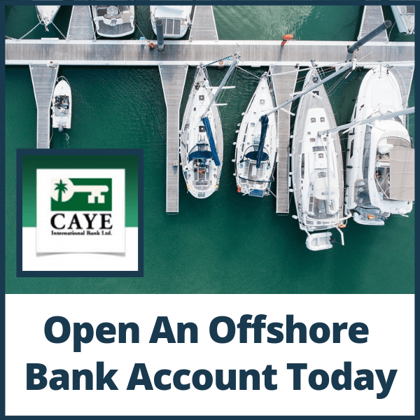 Open an offshore bank account in Belize today