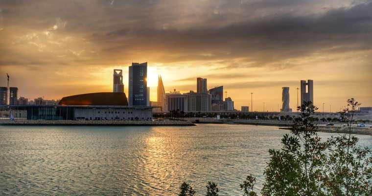 A reunion in bustling Bahrain