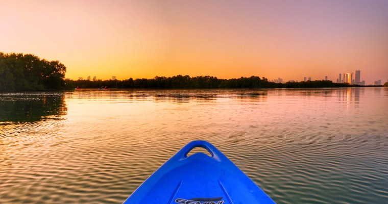 Kayaking in the Middle East… Really?