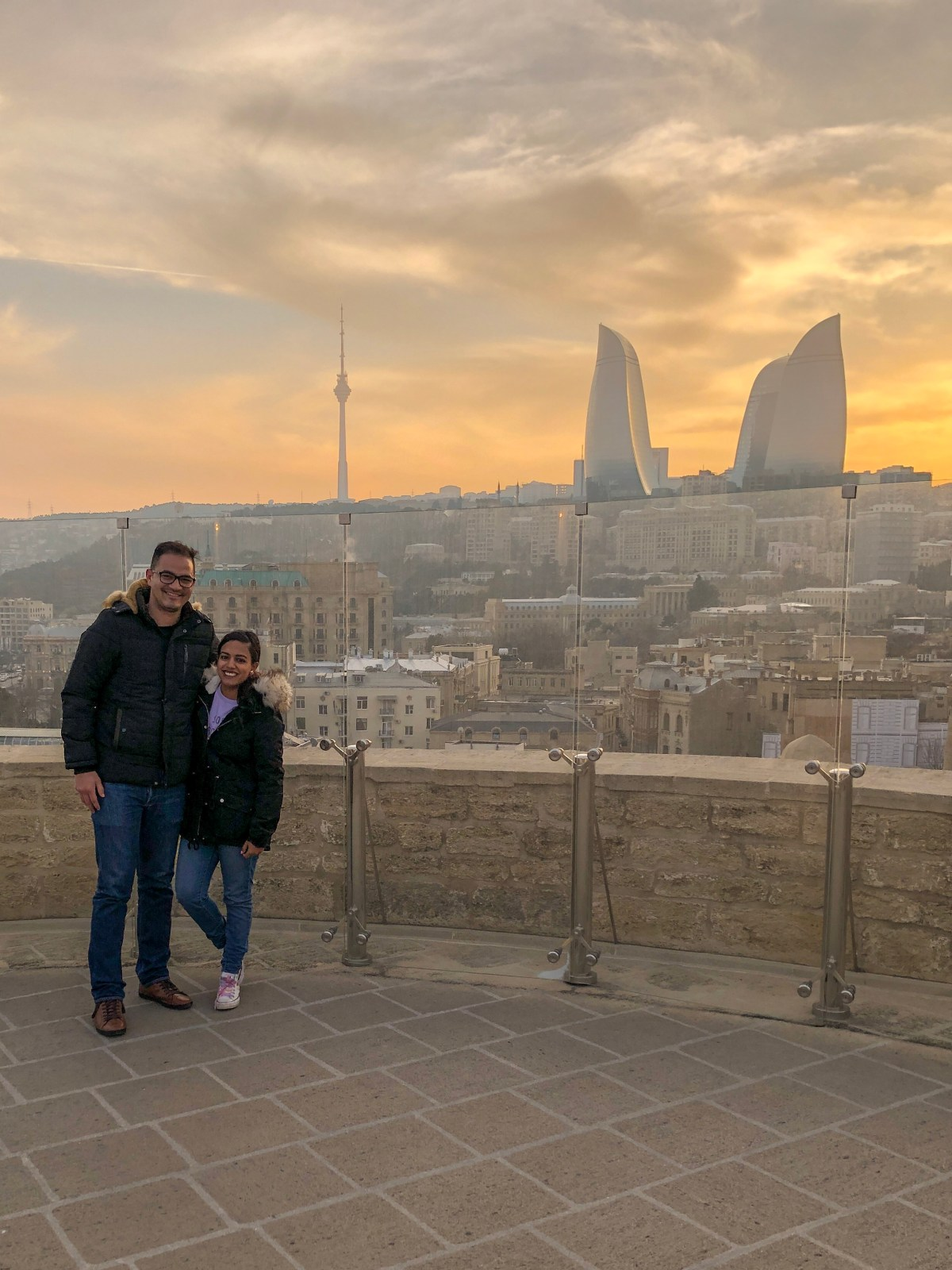 where to go for sunset in baku