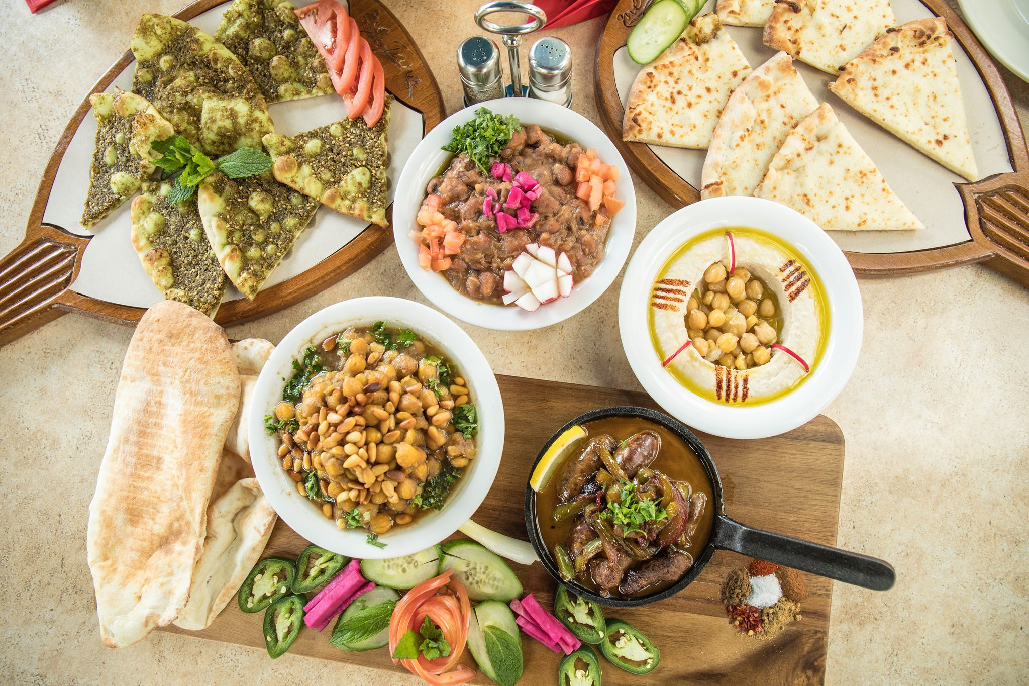 Where to find a good Arabic breakfast in Dubai