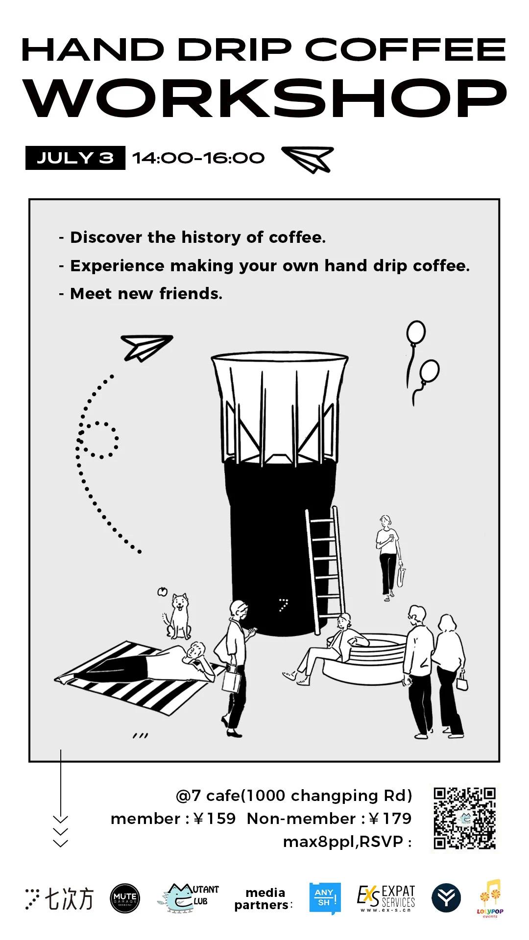 Hand drip coffee workshop