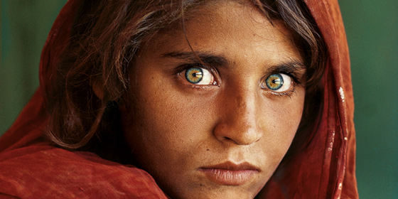 Afghan Girl (Photo: Steve McCurry)