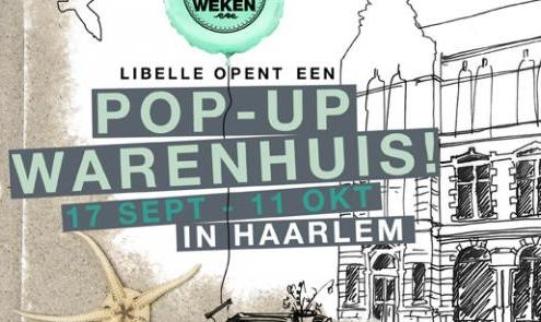 Libelle opens pop-up shop in Haarlem