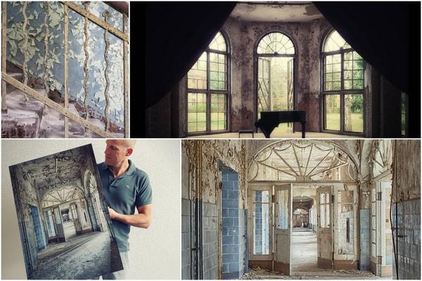 Olaf Kramer: 'Verlaten & vastgelegd' (Photos source: http://www.olafkramerfotografie.nl)