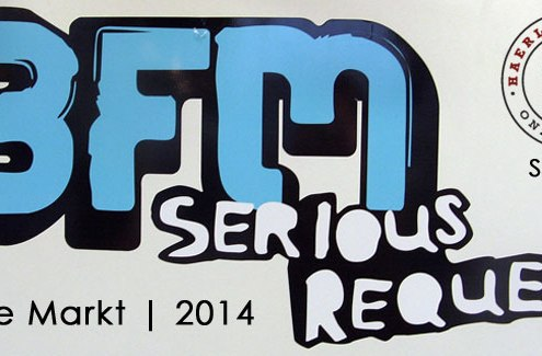 Stock up on supplies, Haarlem to be transformed for 3FM's Serious Request Live