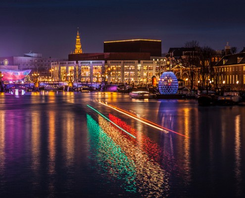 Amsterdam's Light Festival(Photo: vandaagopstap.nl)