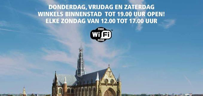 shopping hours Haarlem
