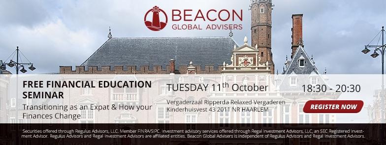 Free Financial Education Seminar for Expats
