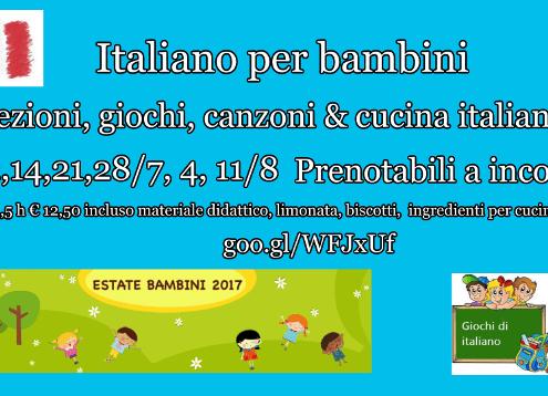 Italiano per bambini