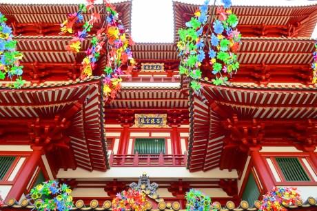 The Buddha Tooth Relic Temple, Chinatown Photo credit: Tatyana Kildisheva