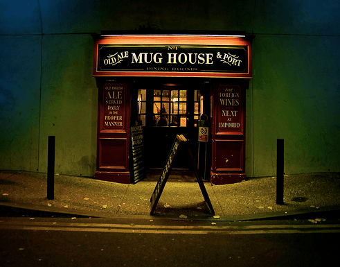 Where I'm on at. Image credit: http://acraftyglass.co.uk/pubsbars/the-mug-house-london-bridge#comment-22764
