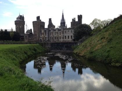 Castle apartments at Cardiff Castle